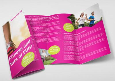 Brochures (Roll Fold)