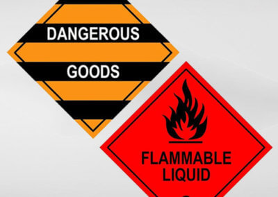 Dangerous Goods, Chemical and Safety Labels