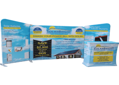 Expo Fabric Displays